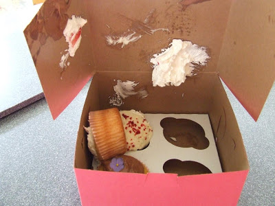Cupcake's destroyed