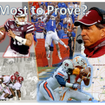 Top Five in SEC Football with the Most to Prove