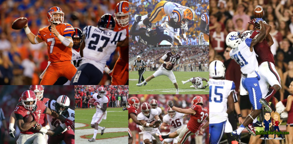 Shiny Sophomores Flashy Freshmen Top New Teammates Carving SEC Football Teams