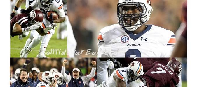 Retooled Gus Bus Cruises into November Undefeated Destination Iron Bowl 2015