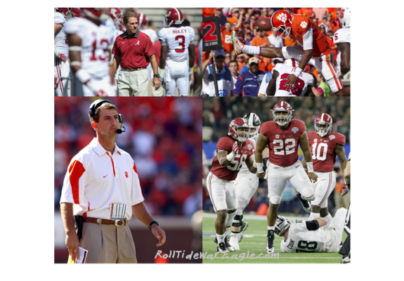 Alabama vs Clemson 2016 Predicted to Battle Through the Fourth Quarter